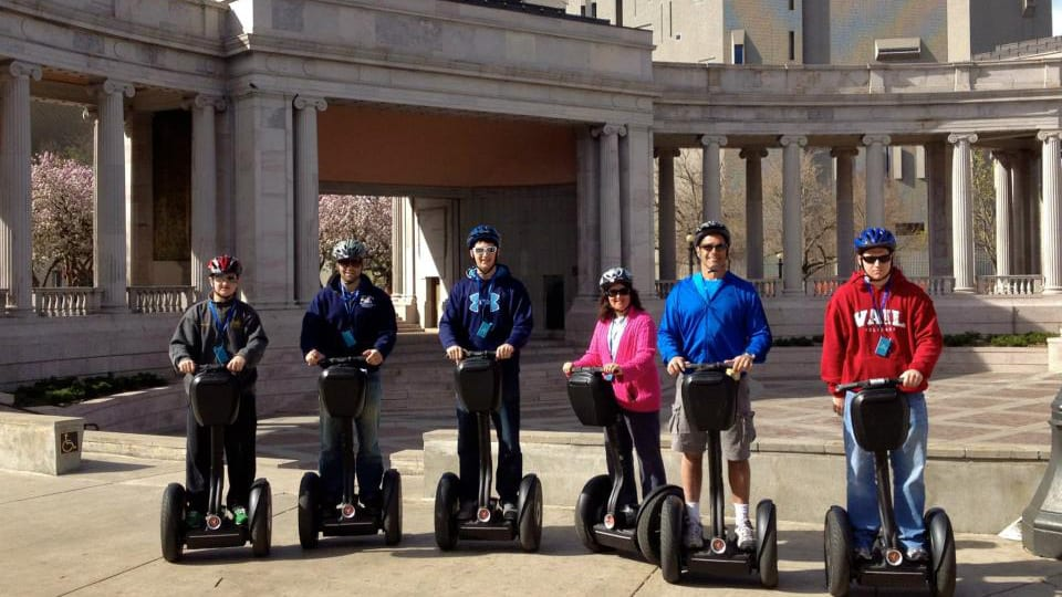 Colorado Segway Tour Civic Center Park Denver
