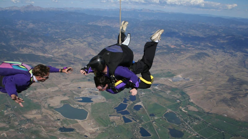 Colorado Skydiving Tandem Group
