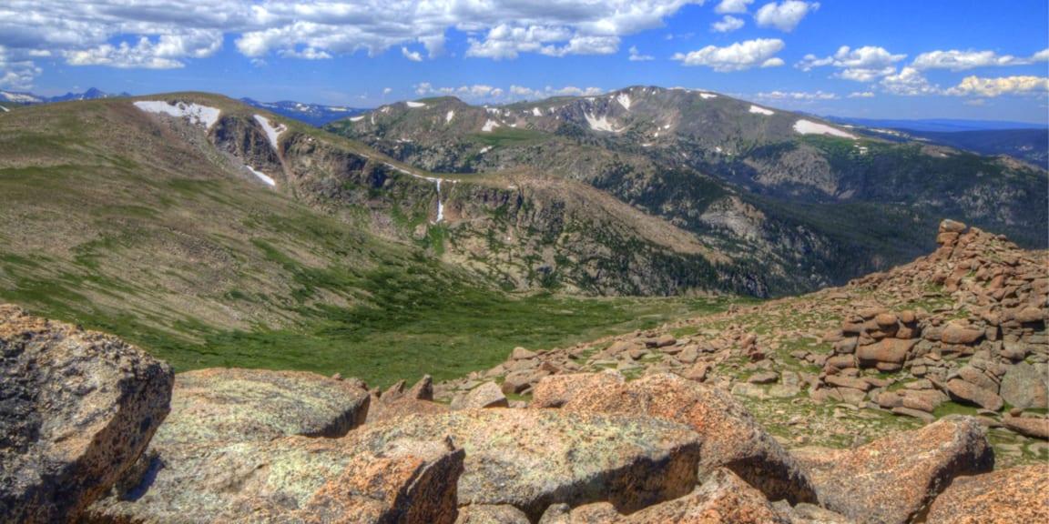 Comanche Peak Wilderness Stormy Peak View