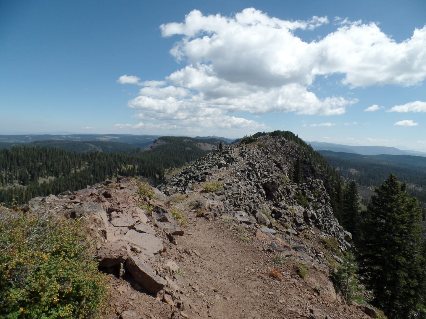 Crag Crest Trail Panoramic Overlook