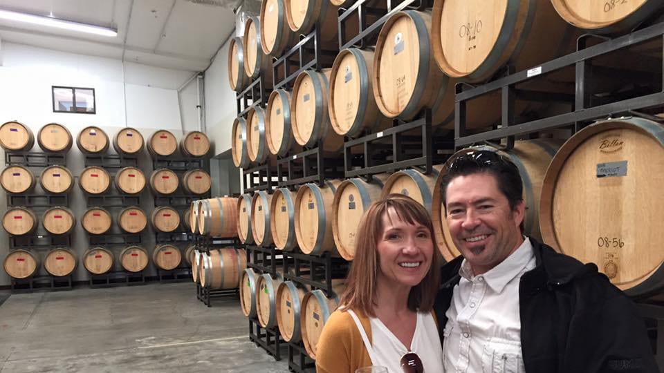 DeBeque Canyon Winery Wine Barrels Colorado