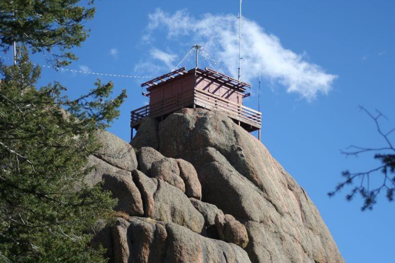 Devil's Head Trail Fire Lookout Colorado