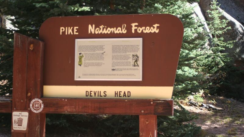 Devil's Head Trailhead Pike National Forest
