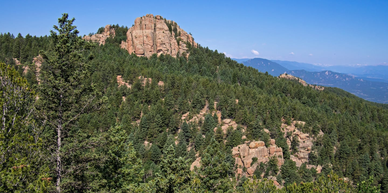 Devil's Head Trail Sedalia Colorado