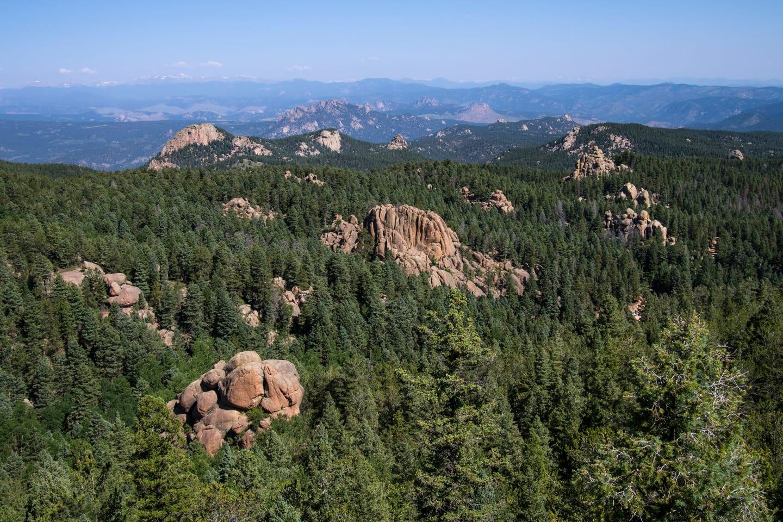 Devil's Head Trail Overlook Colorado