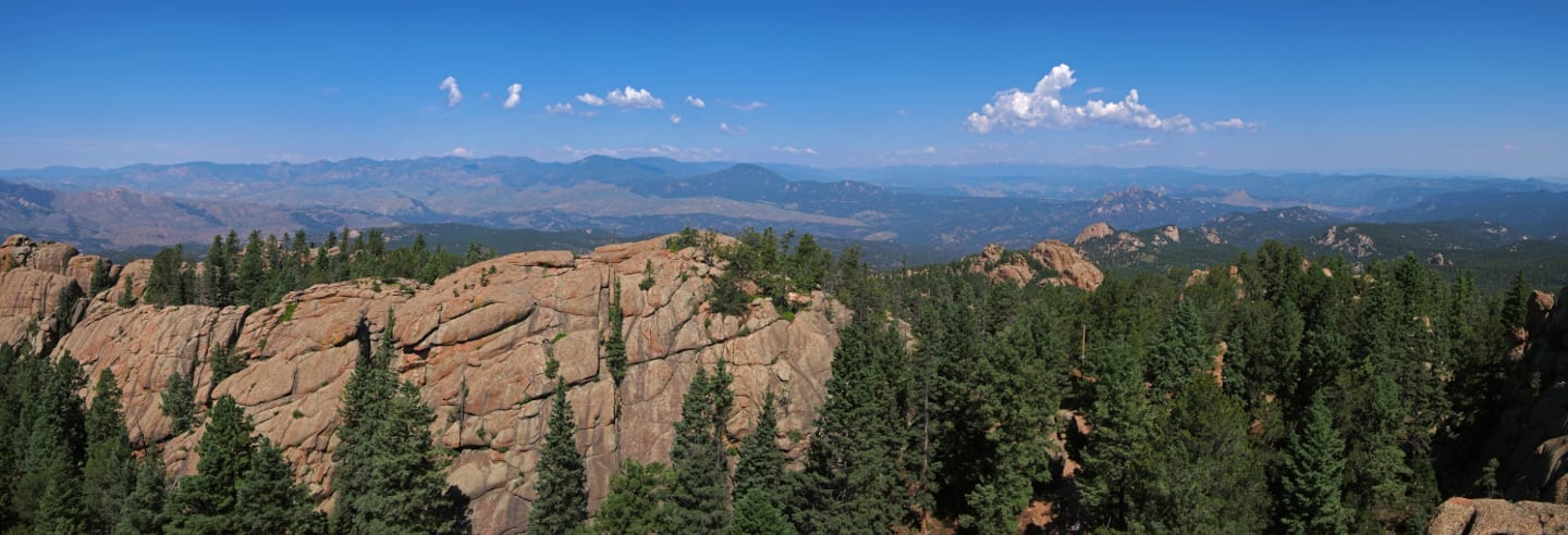 Devil's Head Trail Lookout Overlook Panorama