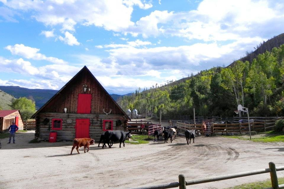 Drowsy Water Ranch A-Frame Lodge Colorado