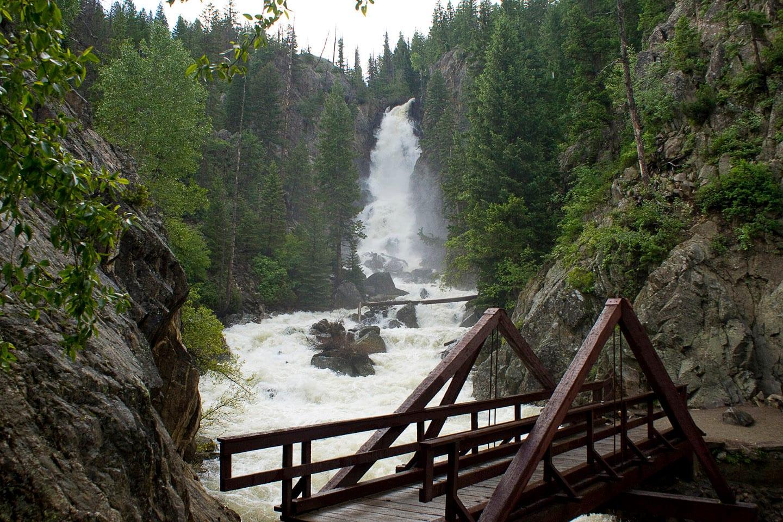 Fish Creek Falls Trail Historic Bridge