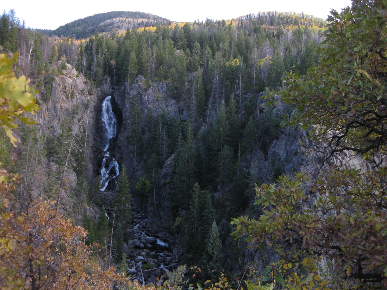 Fish Creek Falls Trail Waterfall