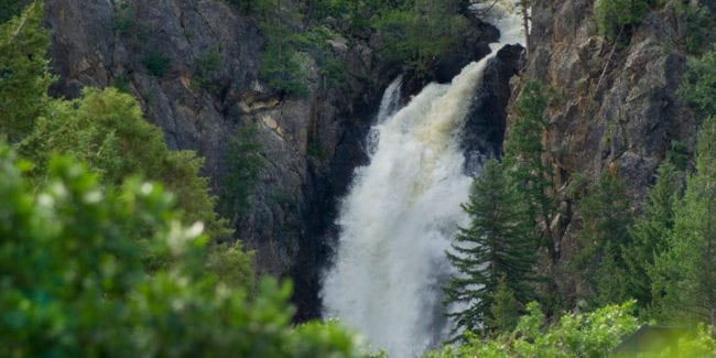 Fish Creek Falls Trail Steamboat Springs Colorado