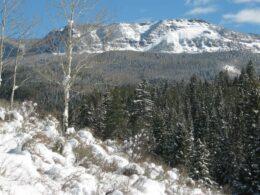 Flat Tops Wilderness Mountains Colorado