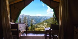 Glamping Mountain View Luxury Camping