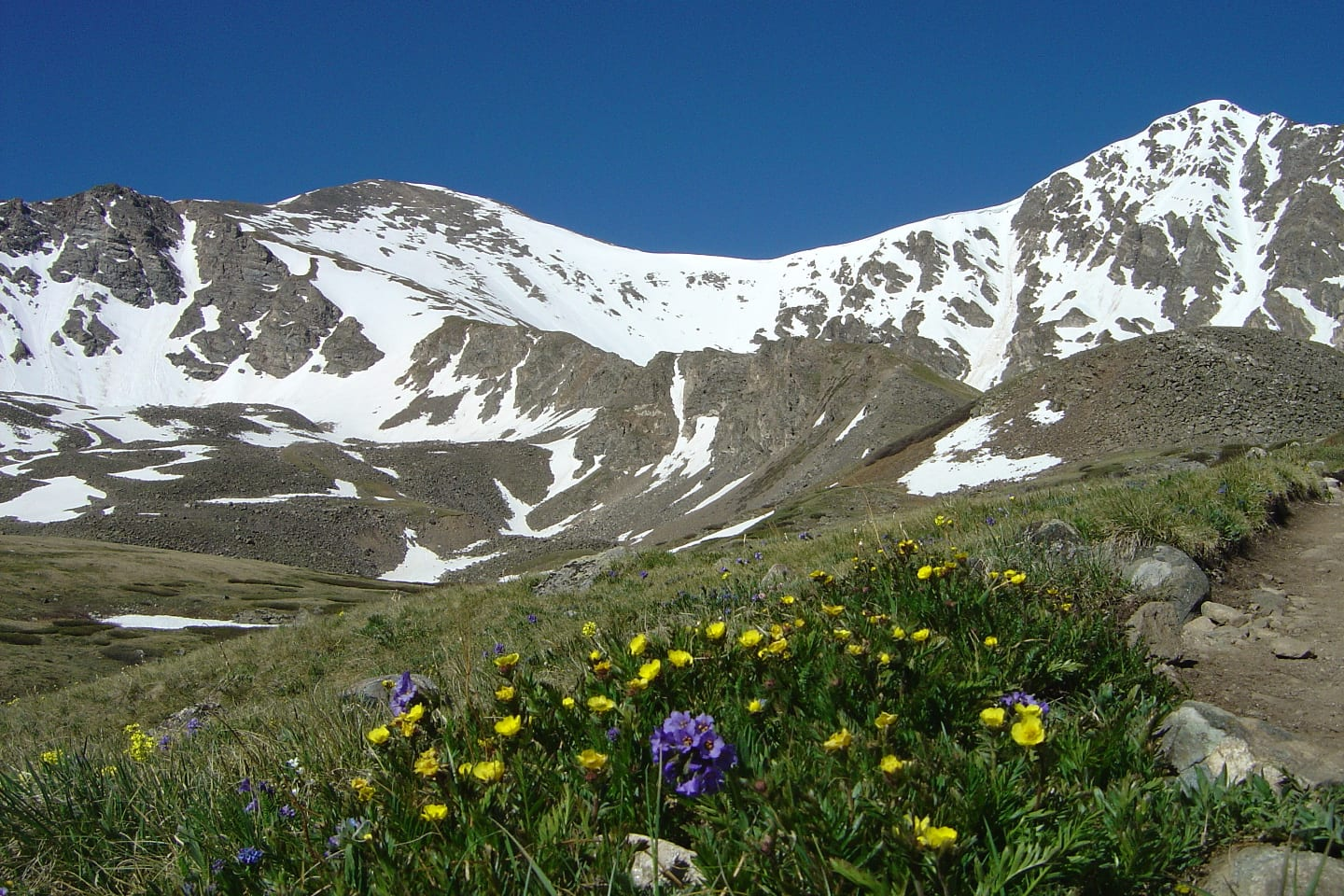 Grays Peak and Torreys Peak Colorado