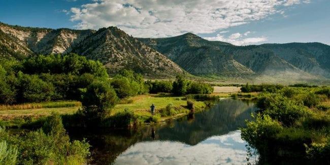 High Lonesome Ranch Fly Fishing De Beque Colorado