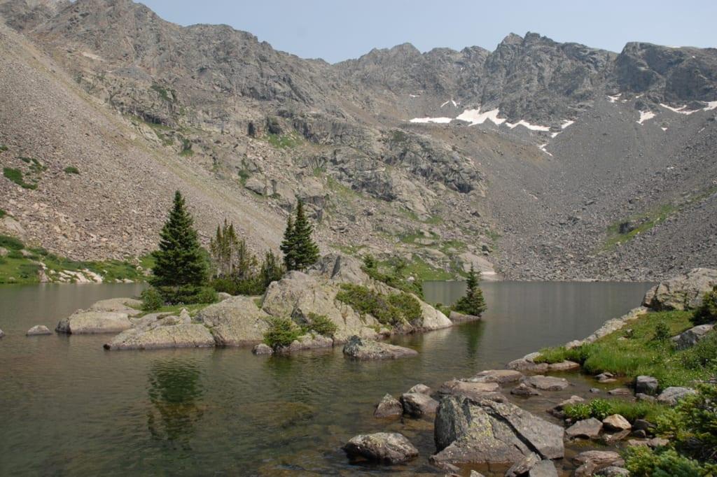 Holy Cross Wilderness Mystic Island Lake