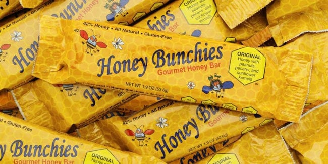 Honey Bunchies Gourmet Honey Bar