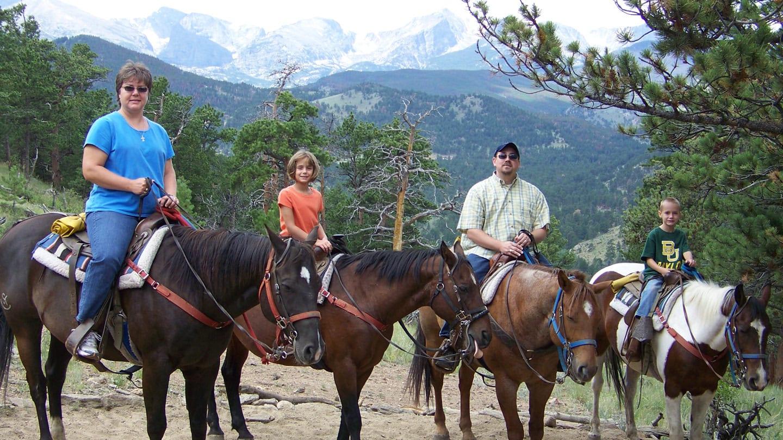 Horseback Riding Estes Park Colorado