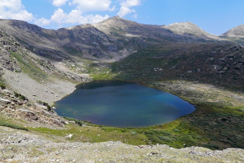 Hunter Fryingpan Wilderness Linkins Lake
