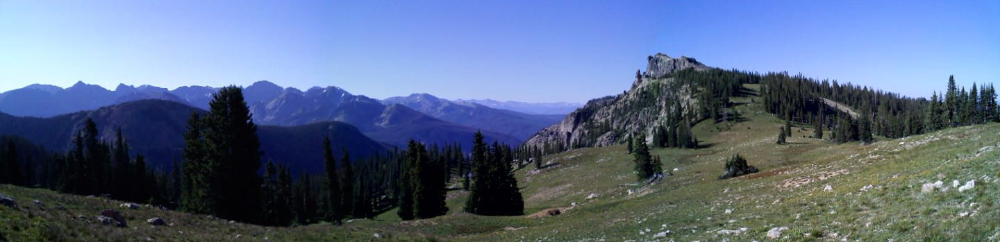 Indian Peaks Wilderness Panorama