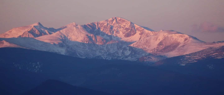 James Peak Dawn Coloraod