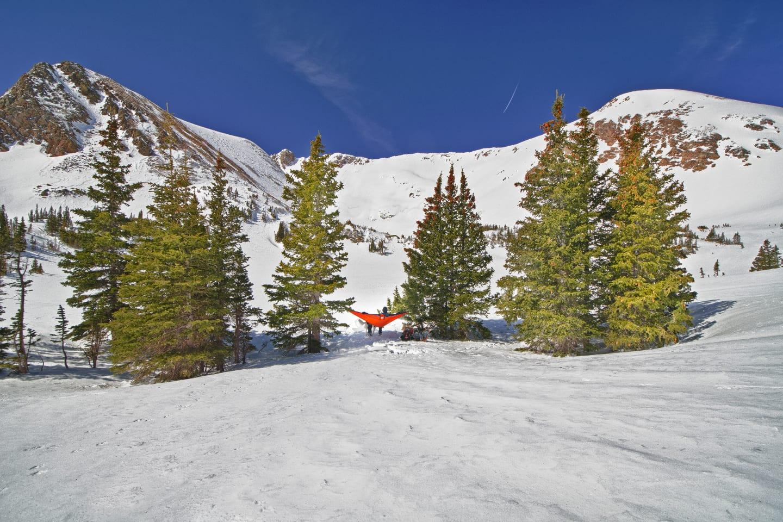 James Peak Wilderness Winter Hammock