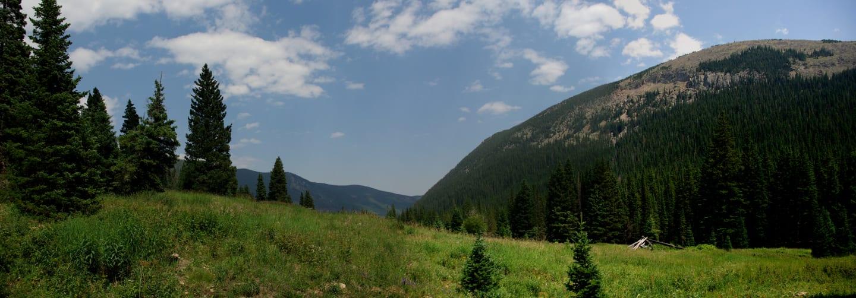 James Peak Wilderness Valley Floor