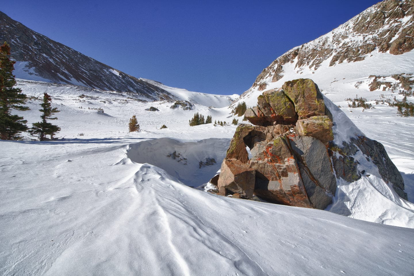 James Peak Wilderness Winter Colorado