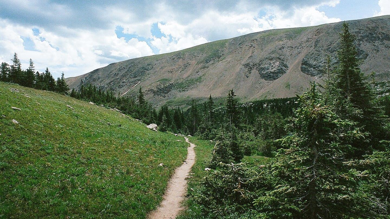 James Peak Wilderness Trail Path