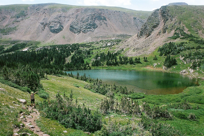 James Peak Wilderness Heart Lake