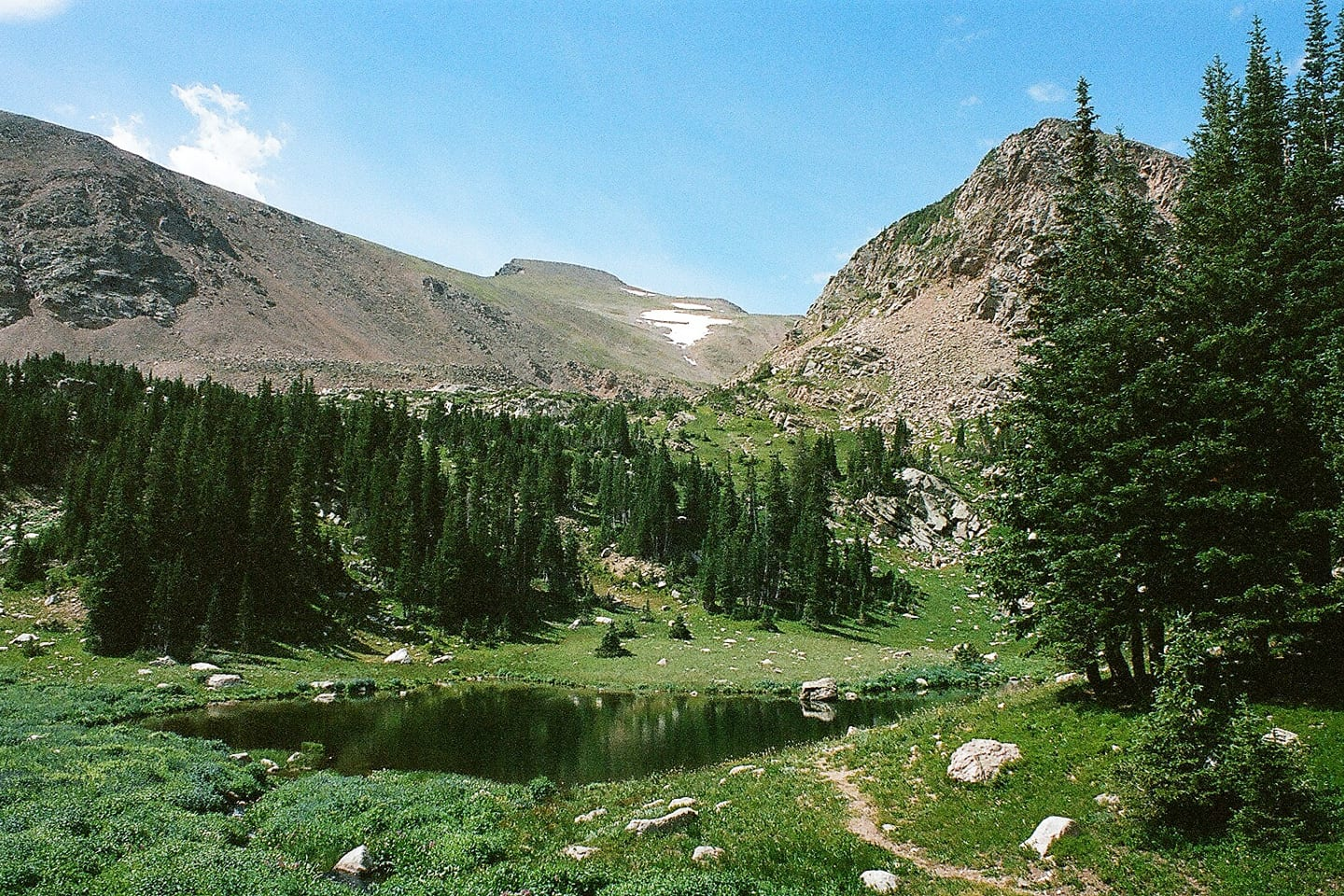 James Peak Wilderness Heart Lake