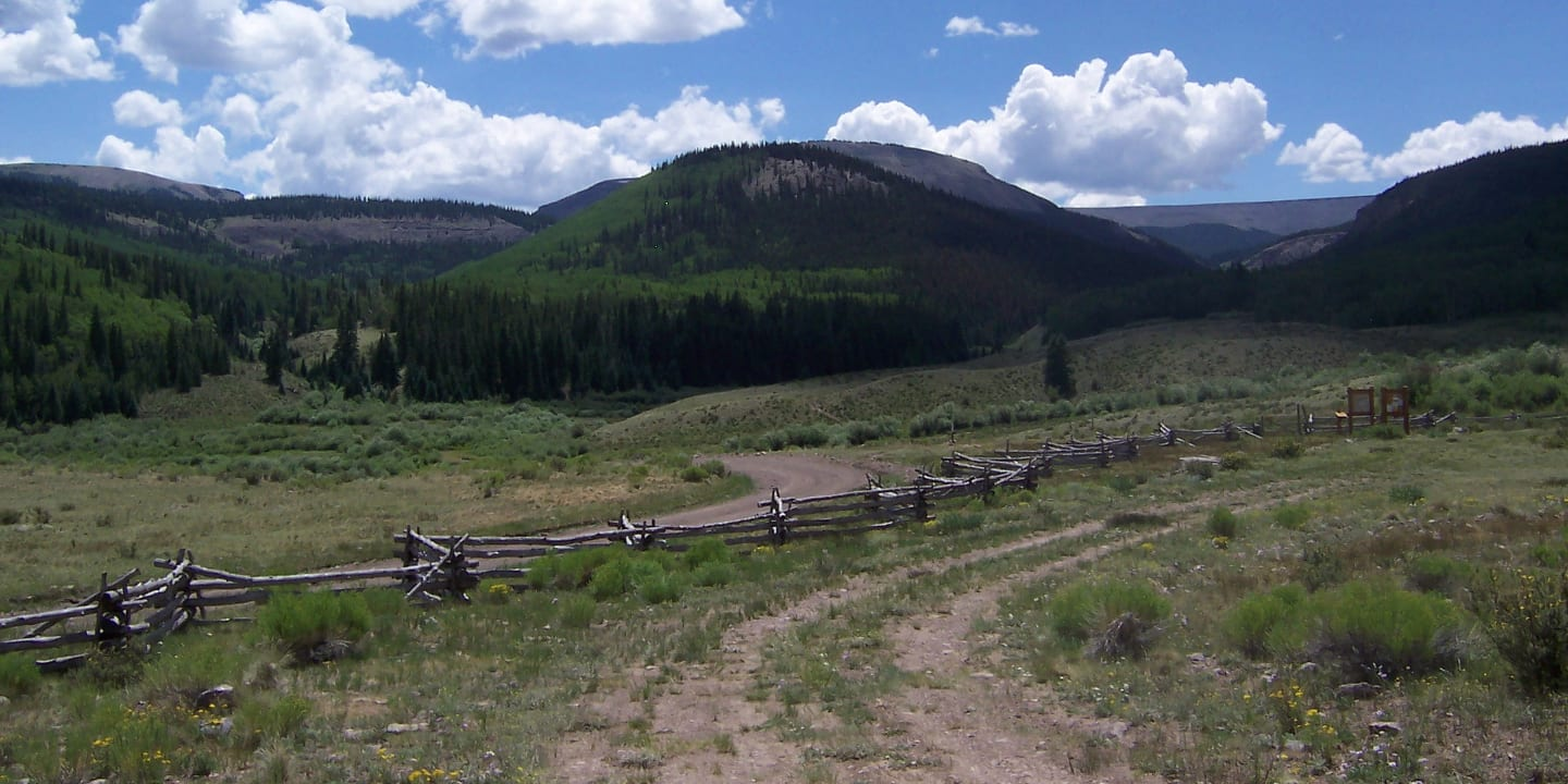 La Garita Wilderness Forest Road 787 Colorado