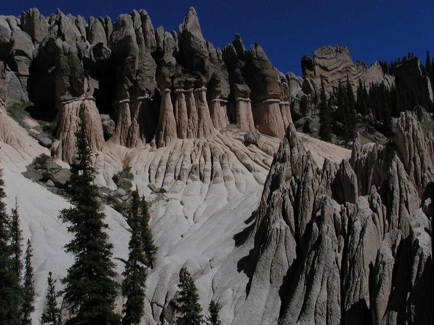 La Garita Wilderness Wheeler Geological Area Mosques Hoodoos