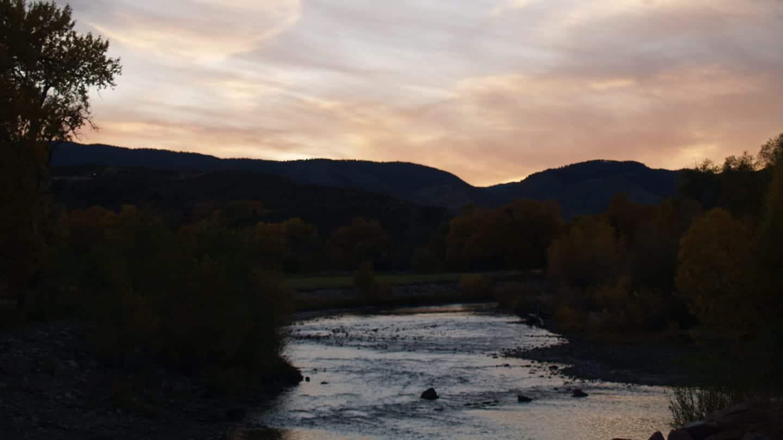 Laporte CO Poudre River Mountains