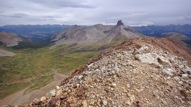 Lizard Head Wilderness Cross Peak Ridge Hike