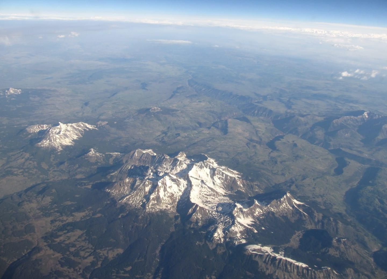 Lizard Head Wilderness Wilson Peak Aerial