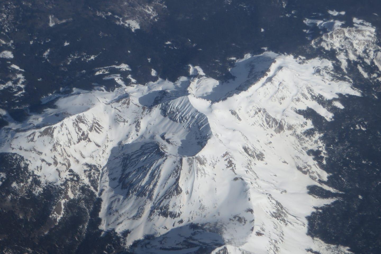 Lizard Head Wilderness Wilson Peak Summit Aerial View