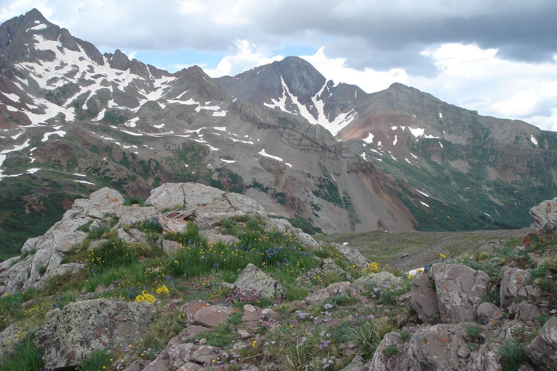 Lizard Head Peak Wilson Peak Colorado