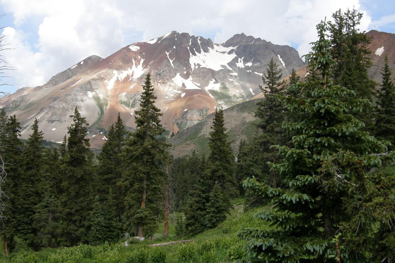 Lizard Head Wilderness Valley Colorado