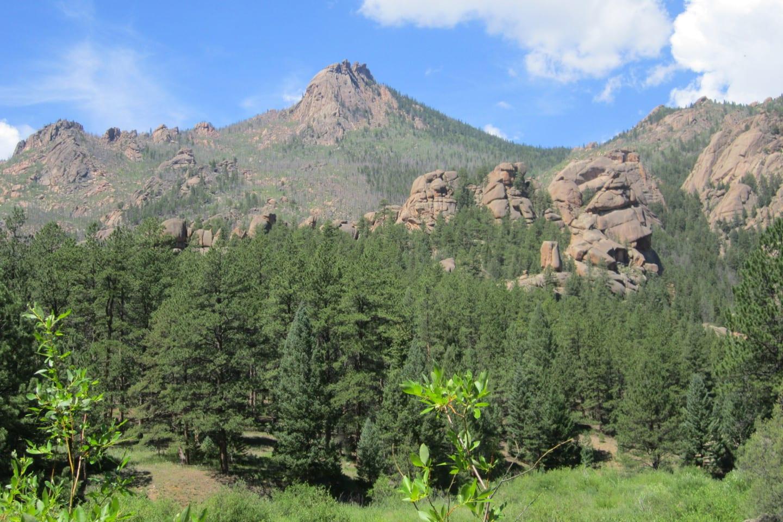 Lost Creek Wilderness Granite Rocks Colorado