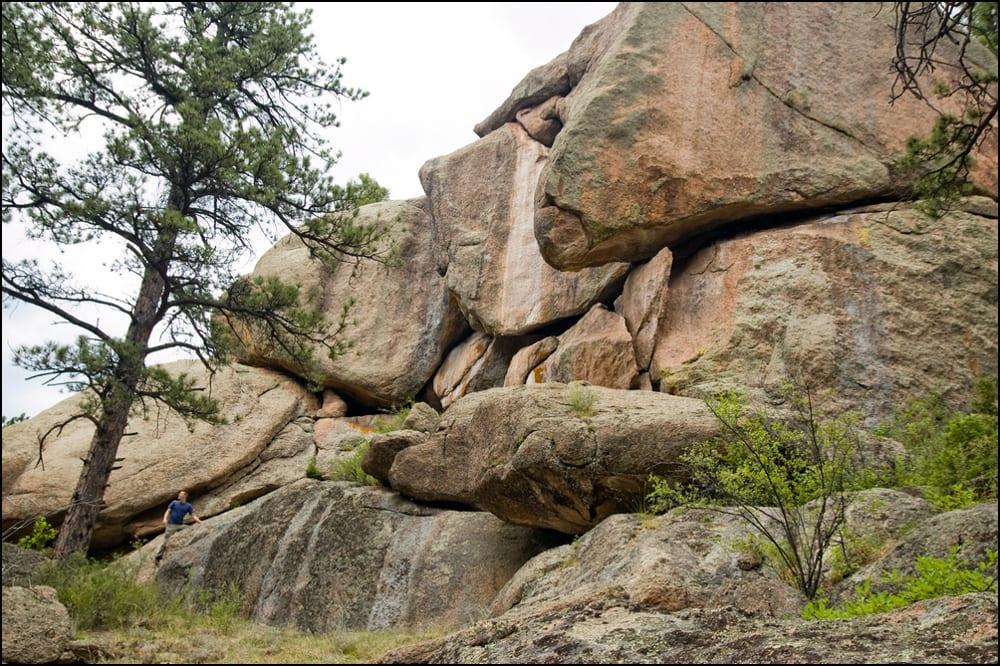 Lost Creek Wilderness Granite Rocks