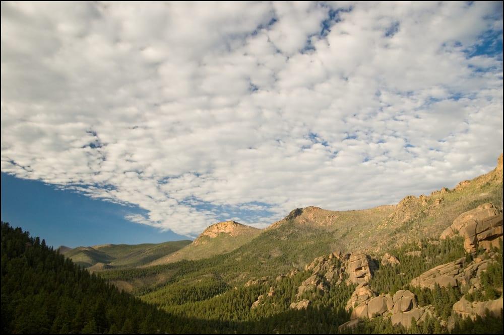Lost Creek Wilderness Cloudy Sky