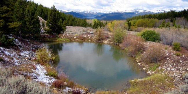 Mineral Belt National Recreation Trail Leadville Colorado