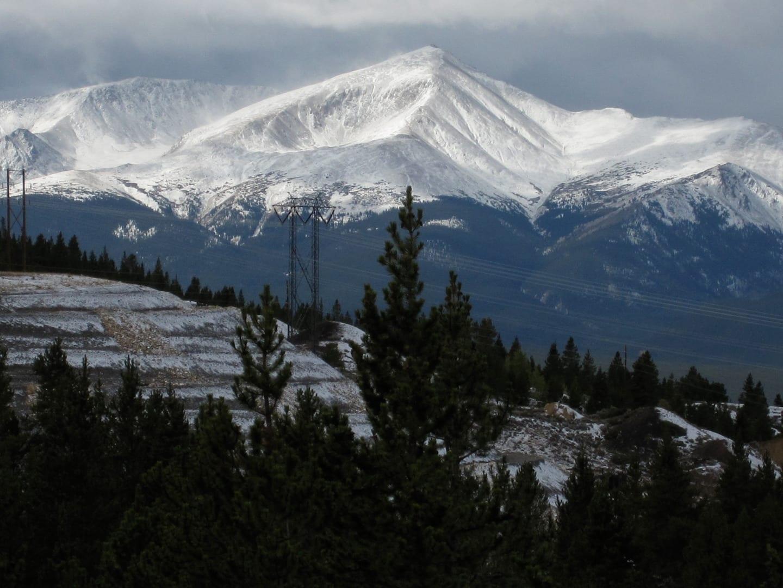 Mineral Belt Trail Mount Massive View