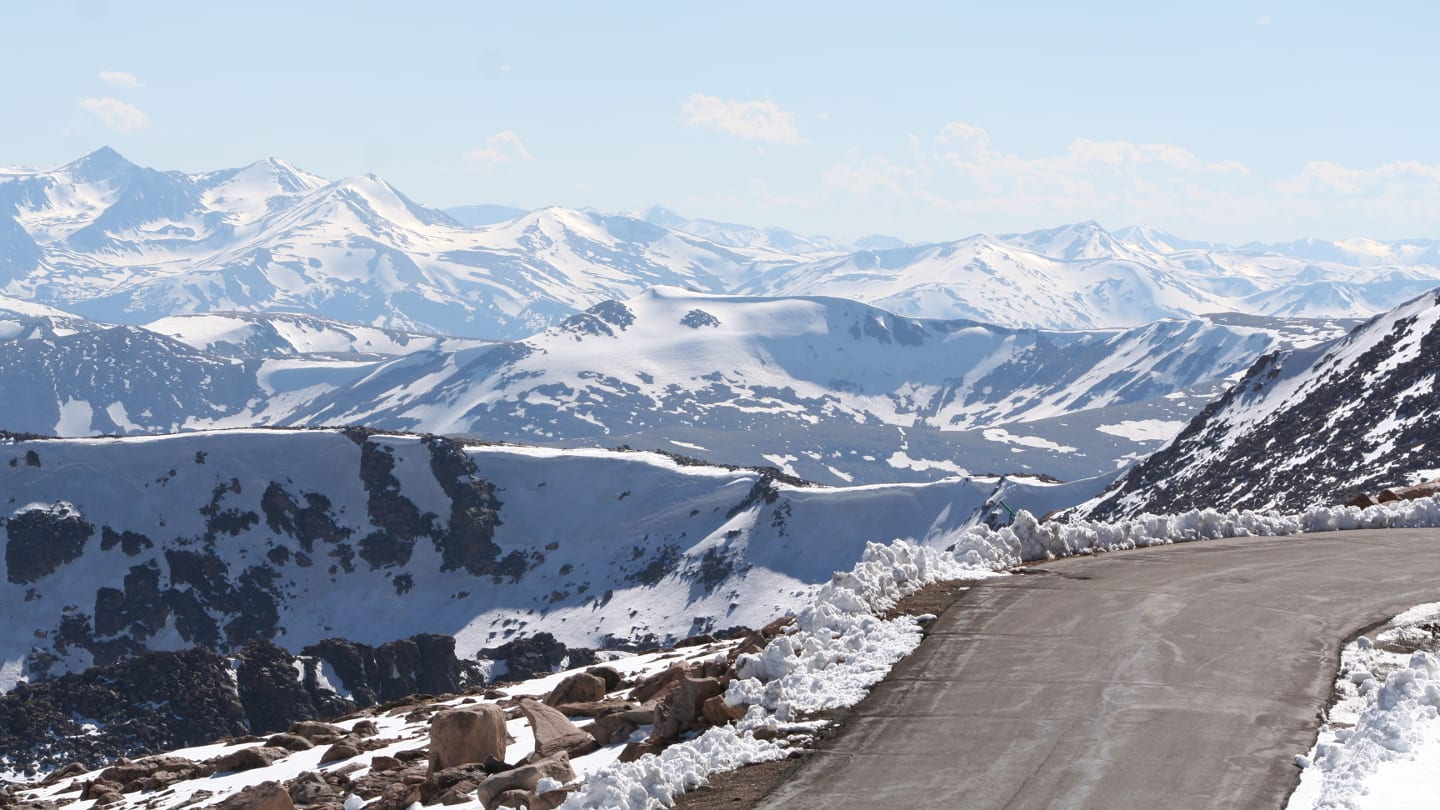 Mount Evans Byway Near Summit
