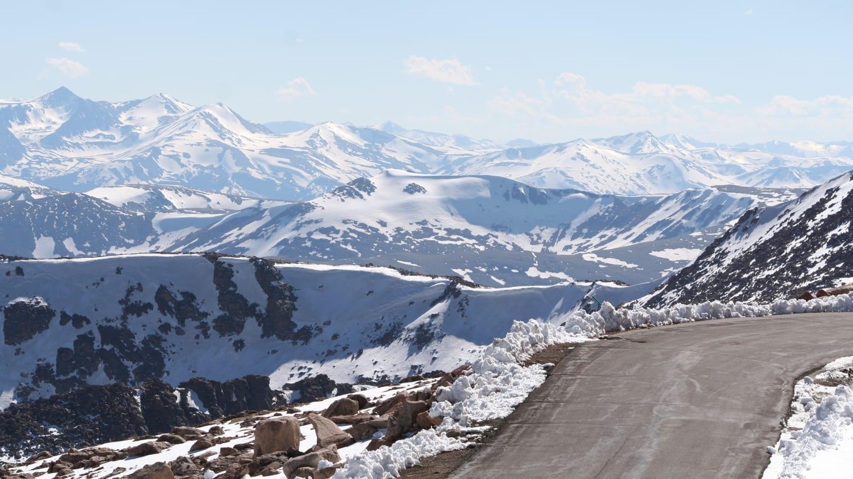 Mount Evans Byway Near Summit