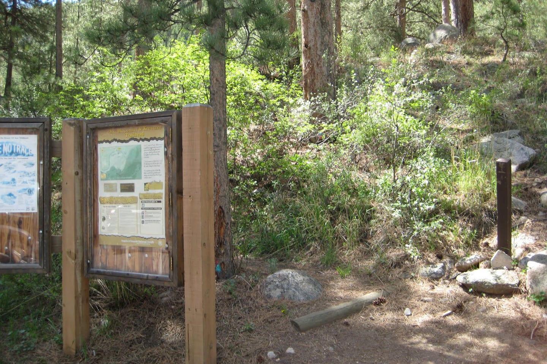 Mount McConnel Kreutzer Trail Trailhead