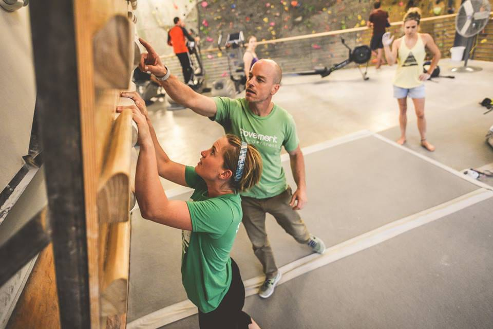 Movement Climbing Fitness Boulder Personal Trainer