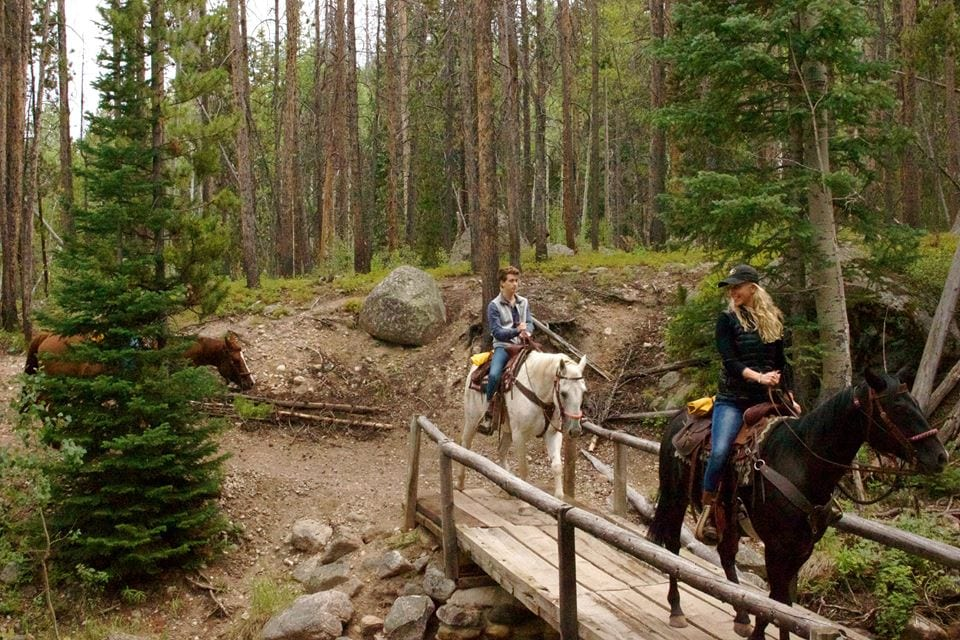 Rawah Ranch Horseback Riding Colorado