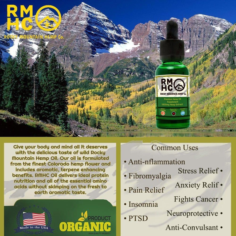 Rocky Mountain Hemp Oil Benefits