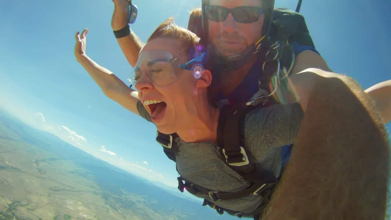 Skydive Colorado Tandem Free Fall
